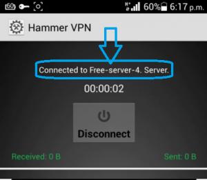 Internet gratis Hammer vpn octubre
