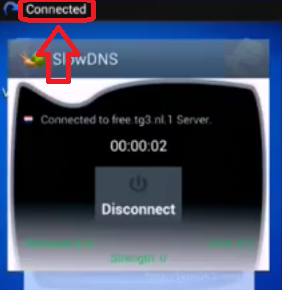 Internet gratis Slow Dns Apn claro