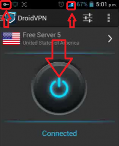 Internet gratis TIGO Colombia DROID VPN