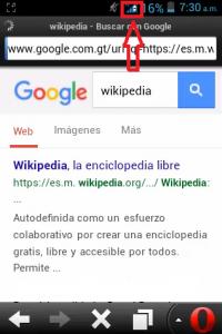 Opera mini Internet gratis Tigo