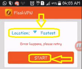 Flash VPN internet Claro Gratis Argentina