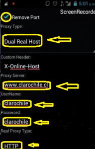 Nuevo internet Chile gratis Claro