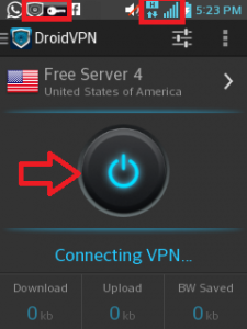 Droid VPN Movistar internet gratis Marzo