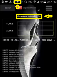 Conexión estable CNT