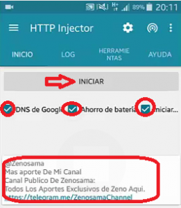 Servers HTTP Injector