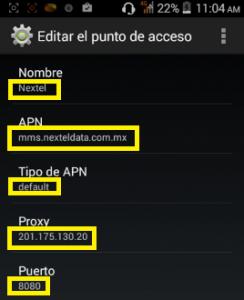 Conexión 4G México