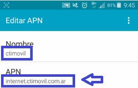 Internet full con APN gratis