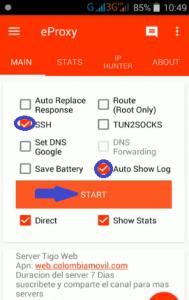 Acceso 3G full con Eproxy