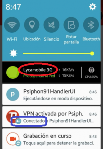 Internet 3G Lycamobile full
