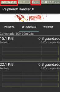 Proxy nuevo unefon 4G