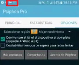 Internet ilimitado Psiphonpro Claro