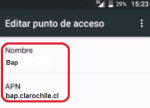 Apn Claro free