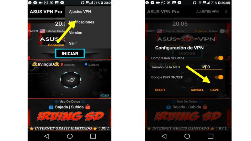 instalar Asus VPN para Android